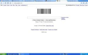 Barcode google