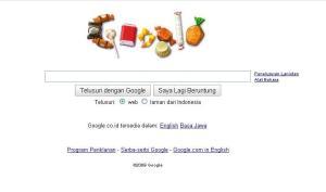 Google Halloween candy