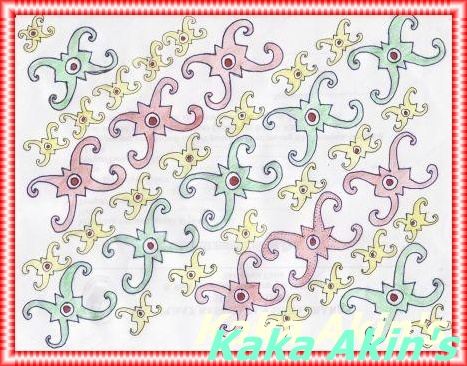 Gambar Batik Kaltim 600 Contoh Yg
