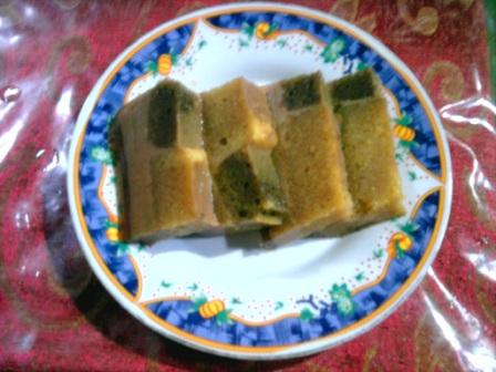 Puding Cake Sisa Lebaran-1