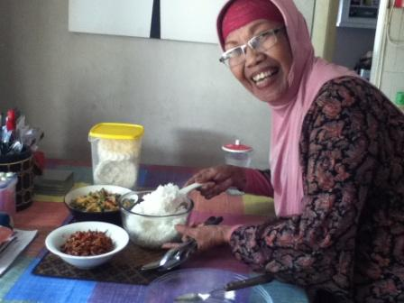 Lunch with Bunda