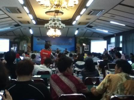 Suasana seminar ABFI 2013