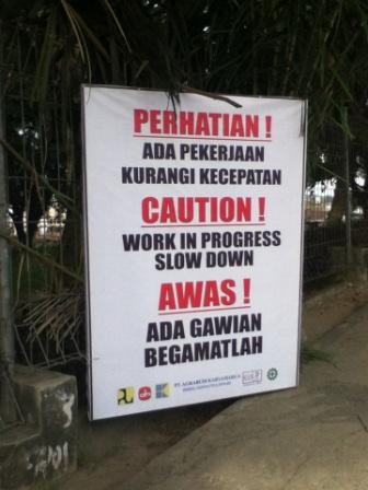 Perhatian!